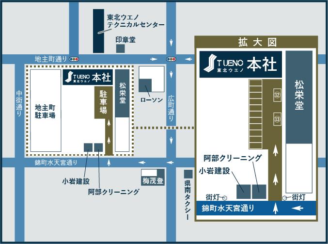 UenoOfficeParkingMAPa